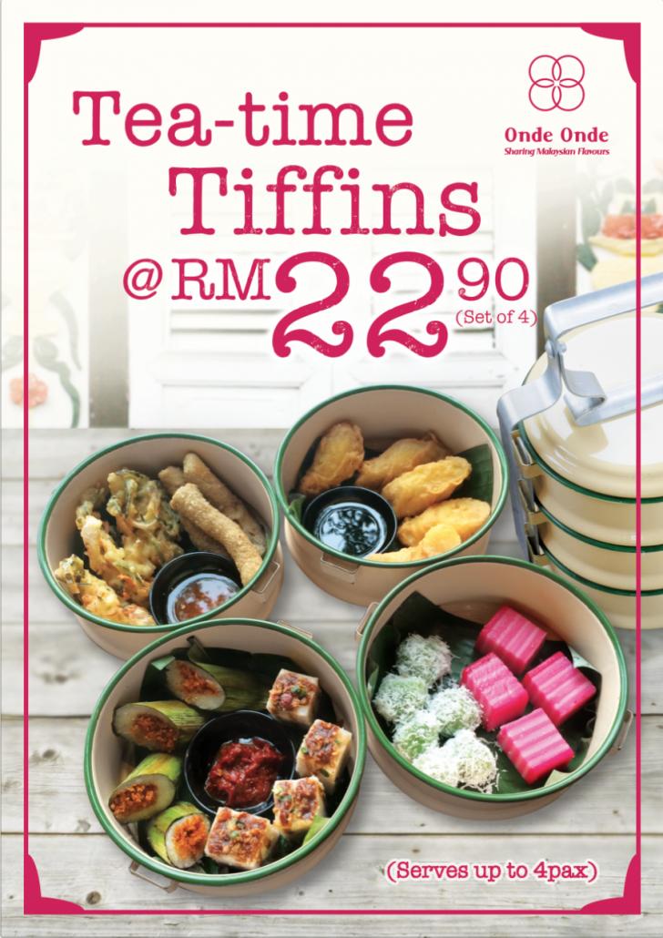 Tea-time tiffins